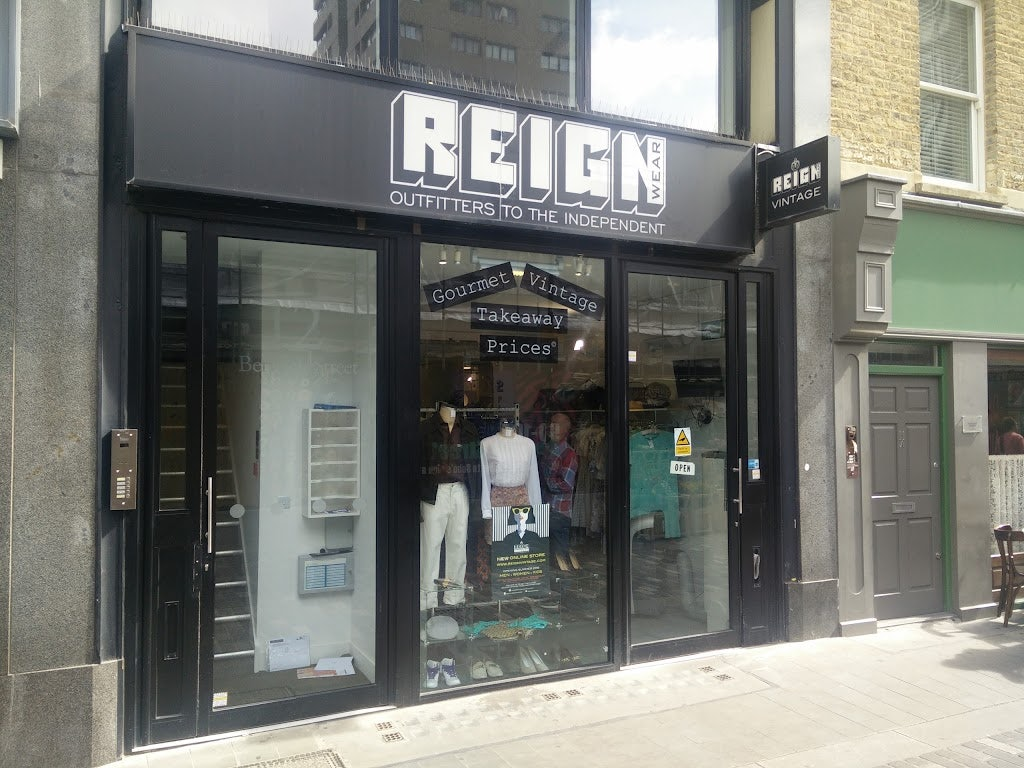 vintage store in London