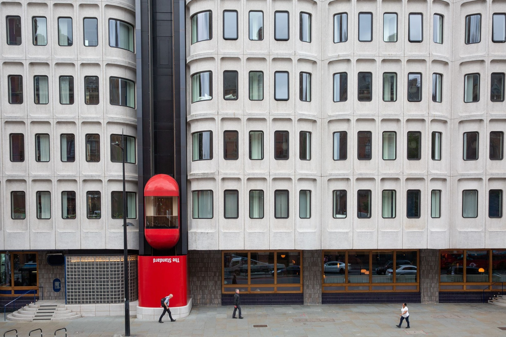 exterior of the Standard Hotel in London